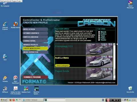 NFS Carbon how to get cars