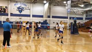 Volleyball Five Set Win 9.25.18