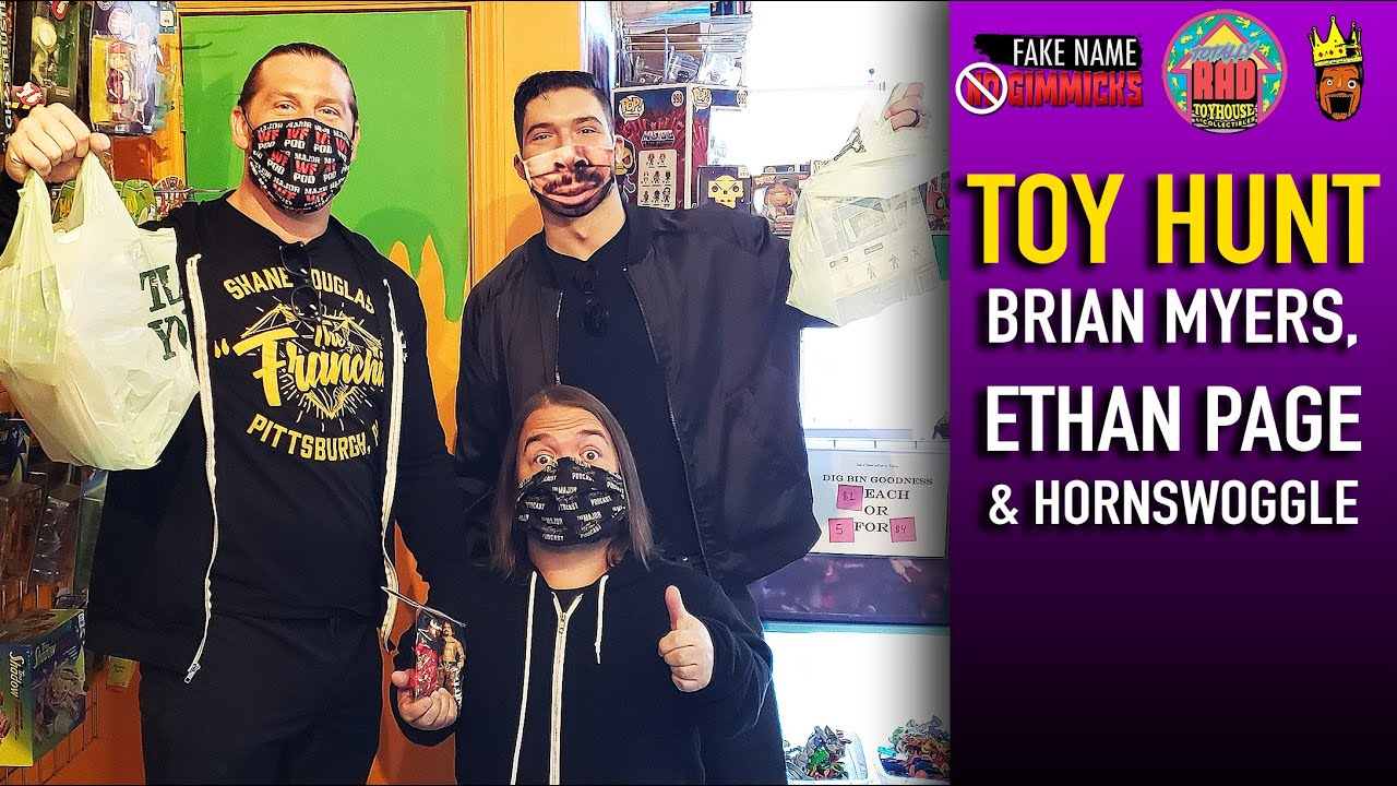 Toy Hunt • Ethan Page, Brian Myers & Hornswoggle