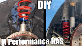 V110: DIY M Performance Height Adjustable Suspension (HAS) Install F80 BMW M3 (same as Dinan and KW)