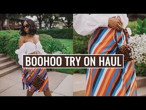 BOOHOO TRY ON HAUL -- MUST HAVE END OF SUMMER LOOKS!!!! | JaLisaEVaughn thumbnail