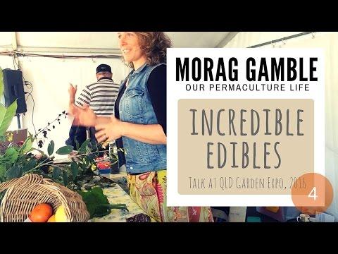 Incredible Edibles Talk by Morag Gamble