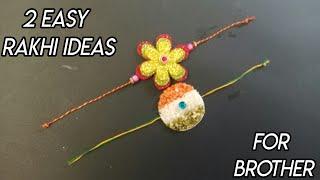 Rakhi making idea at home/How to make Rakhi/DIY Handmade Rakhi/Tricolour Rakhi/Rakhi for competition