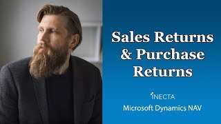 18 - Sales Returns & Purchase Returns in Microsoft Dynamics NAV 2015