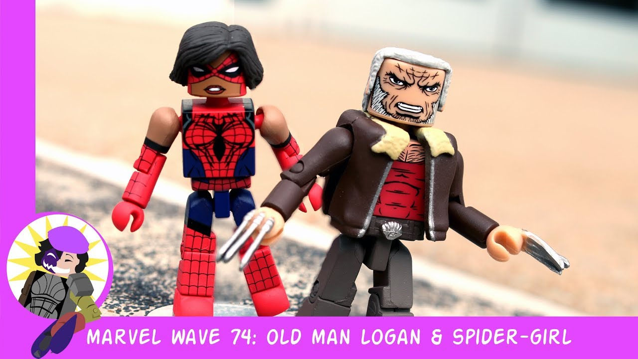 Marvel Minimates série 74 Old Man Logan