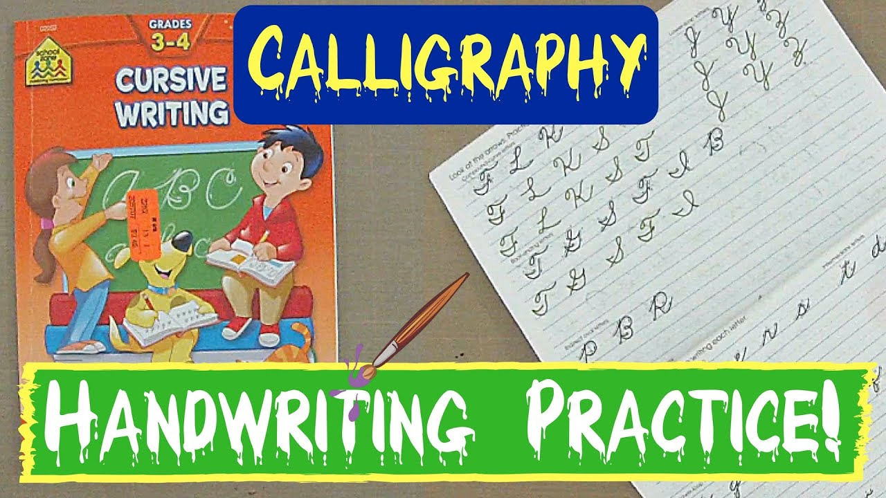 Handwriting Practice Beginning Cursive