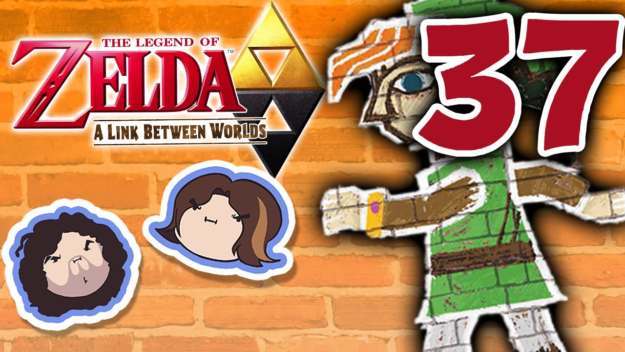 Zelda A Link Between Worlds: Know It or Blow It - PART 37 - Game Grumps