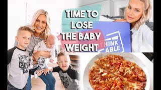 TIME TO LOSE THE BABY WEIGHT | HEALTHY EATING TRYING A NEW FOOD PLAN