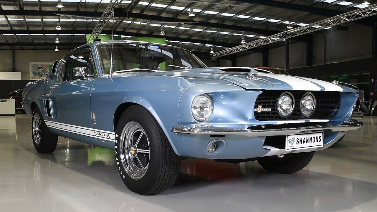 1967 Shelby Mustang GT500 Fastback (LHD) - 2017 Shannons Melbourne Spring Classic Auction