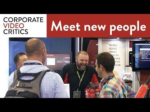 How Do You Meet a Stranger at a Trade Show? - Corporate Video Critics