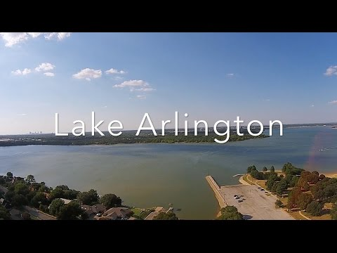 Aerial Lake Arlington