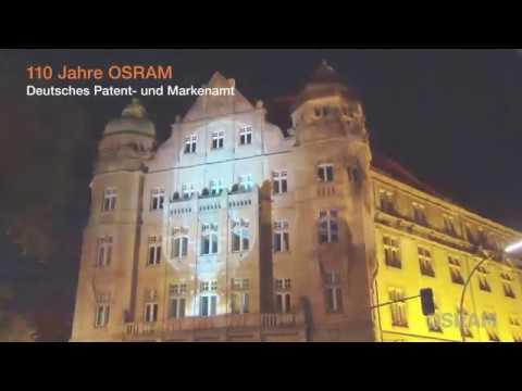 OSRAM illuminates the Patent Office, Berlin