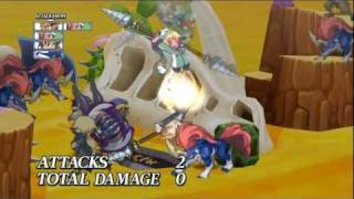 Disgaea 4: A Promise Unforgotten - Team Attack #2 Video (PS3)
