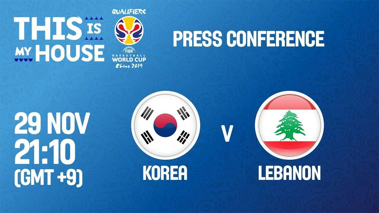 Korea v Lebanon boxscore - FIBA Basketball World Cup 2019