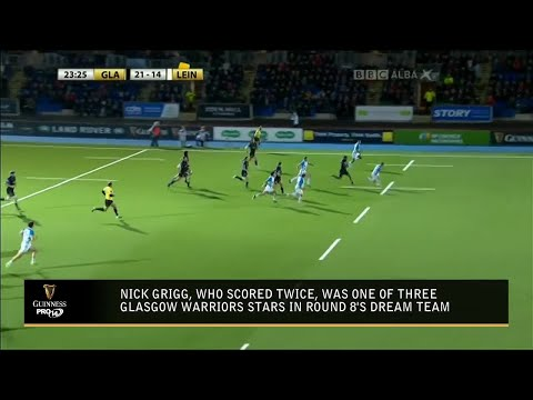 Guinness PRO14: Fantasy Rugby Update (Round 8)