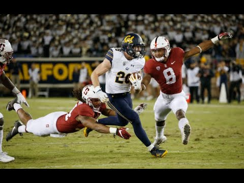 2017 Big Game - Cal Golden Bears vs. #22 Stanford (Full Game)