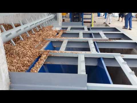 Moving floor move wood chip to boiler , (โอรุ่งเรืองกิจ บจก. ออกแบบสร้าง)