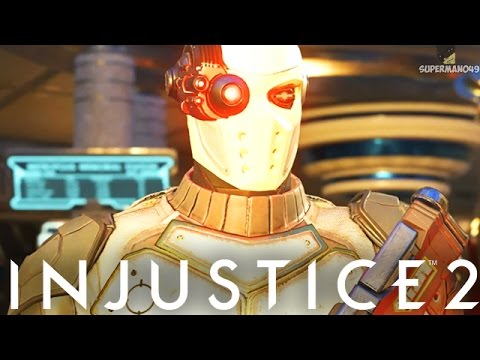 "MY FIRST TIME PLAYING WITH DEADSHOT! - Injustice 2 ""Deadshot"" Gameplay"