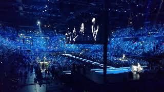 U2 In the name of love live Mediolanum forum Assago 16 ottobre 2018.