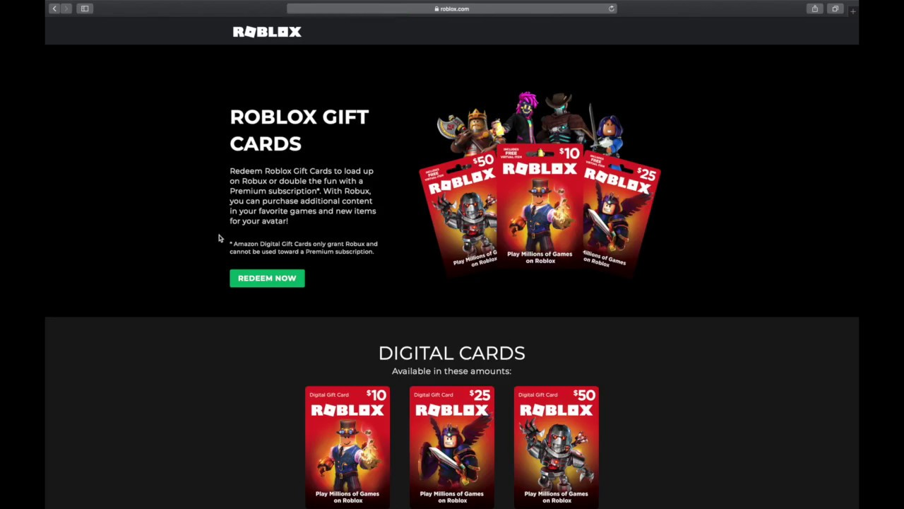 How To Redeem A Roblox Gift Card Also A Good Tip For The Roblox