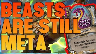 Beasts are still in the Meta! - Nefarian Ulti is great - Hearthstone Battlegrounds Highlights