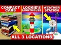 Dance At Compact Cars Lockie S Lighthouse And A Weather Station ALL 3 LOCATIONS FORTNITE GUIDE mp3