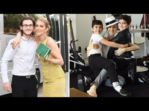 Celine Dion's Sons - 2018 {Rene Charles Angelil | Nelson Angelil & Eddy Angelil}