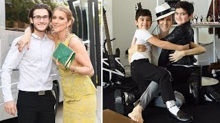 Celine Dion's Sons - 2018 {Rene Charles Angelil | Nelson Angelil & Eddy Angelil}