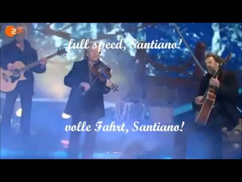 Santiano ~ English and German Lyrics