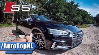 2017 Audi S5 Convertible REVIEW POV Test Drive by AutoTopNL