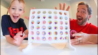 Father & Son PLAY CANDY LAND CONNECT 4! / 2 Games In 1?