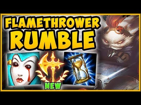 WTF! NEW CONQUEROR 100% GIVES TOO MUCH AP DAMAGE! RUMBLE SEASON 9 TOP GAMEPLAY! - League of Legends
