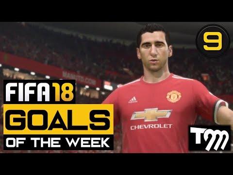 Fifa 18 - TOP 10 GOALS OF THE WEEK #9