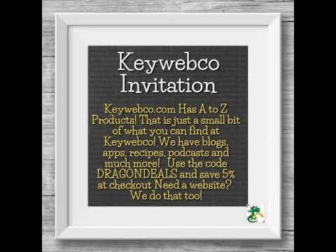 Keywebco Invitation