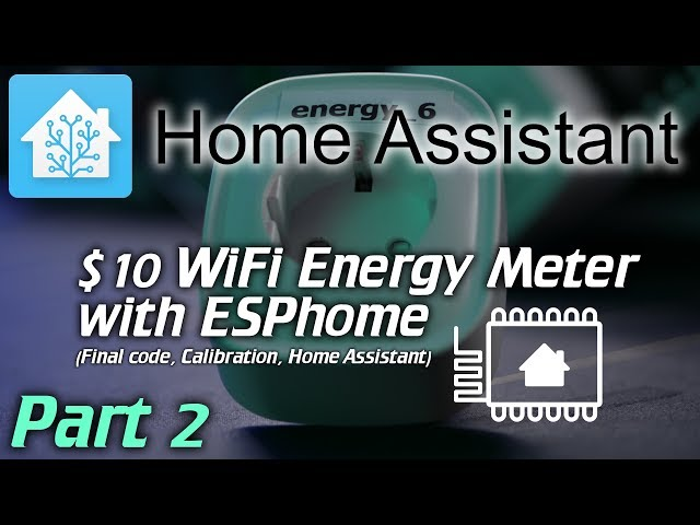Home Assistant: 10$ WiFi energy meter with ESPhome - Intermittent