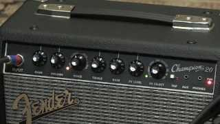 Fender Champion 20 Combo Amplifier Demo - Sweetwater Sound