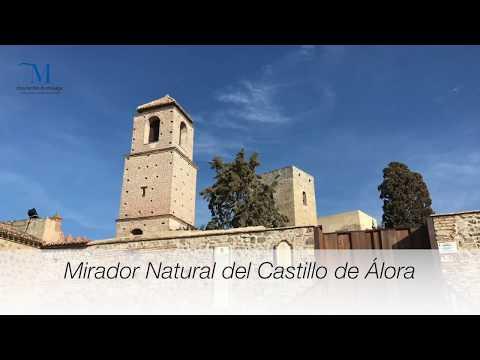 Mirador natural del Castillo de Álora