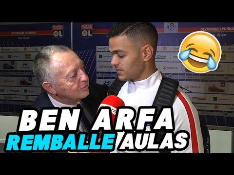 Quand Ben Arfa remballe Aulas face aux médias !