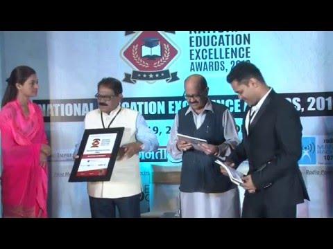 National Education Excellence Awards, 2016 - Holy Hearts Educational Academy, Raipur