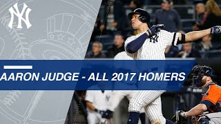 Watch all of Judge's homers