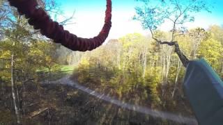 Adrenaline Jump - Tree Top Trekking - Horseshoe - 25 Oct 15