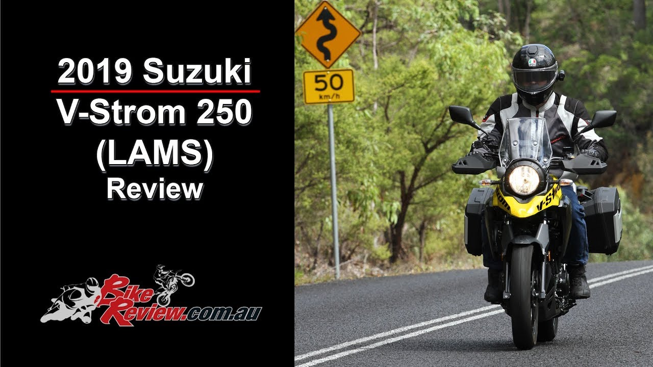 2019 Suzuki V Strom 250 Lams Review Youtube