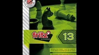 Chess Fritz 13 vs  Deep Fritz 14