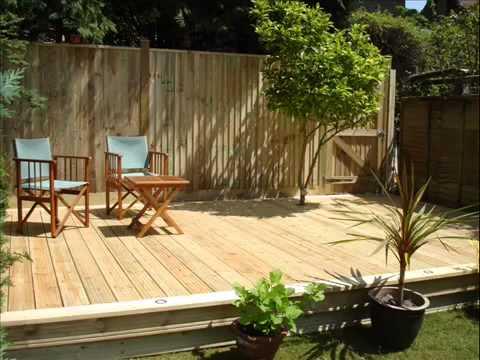 Garden Decking I Garden Decking Construction I Garten Decking I  Gartenterrassen Konstruktions
