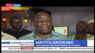Gavana wa kaunti ya Kiambu Ferdinard Waititu aachiliwa kwa dhamana ya laki tano
