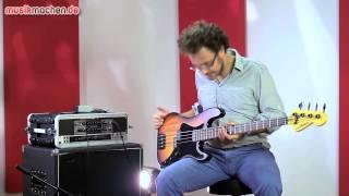 Sandberg Electra VS4 E-Bass im Test auf musikmachen.de