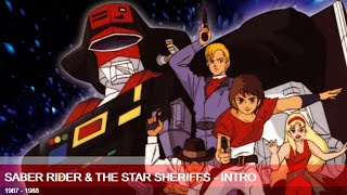 SaberRider #StarSheriffs #Anime The Intro of Saber Rider and the Star Sheriffs SABER RIDER AND THE STAR SHERIFFS - VOL. 1 (BLU-RAY) ...