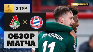 27 10 2020 Локомотив Бавария 1 2 Обзор матча