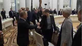 G20-Minister zu Gast bei Putin | Journal