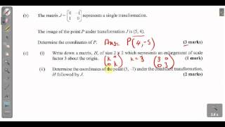 csec cxc maths past paper 2 question 11bc january 2013 exam solutions act math sat math